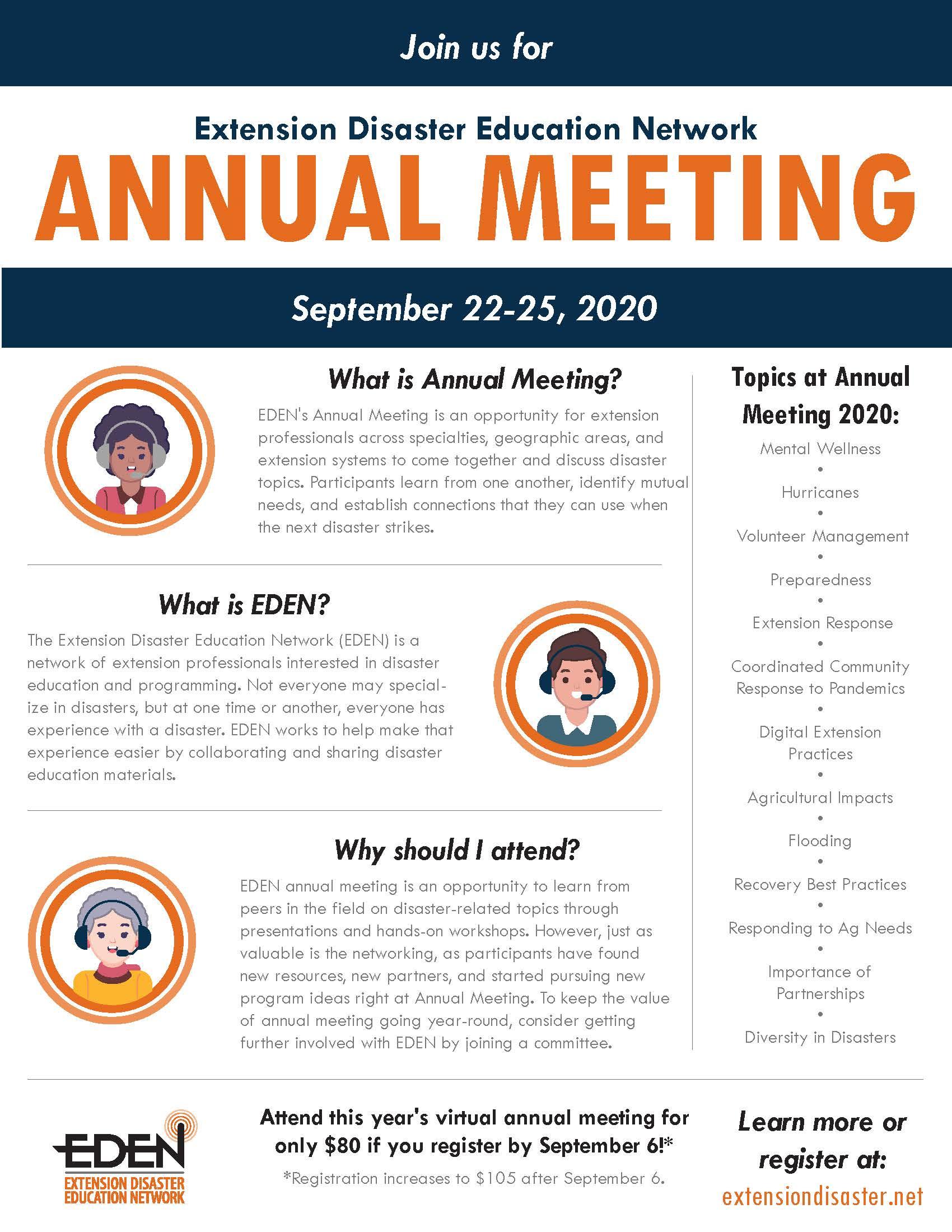 2020 EDEN Annual Meeting Flyer